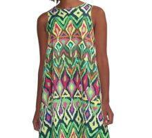 Navaho North American Indian design 1. A-Line Dress
