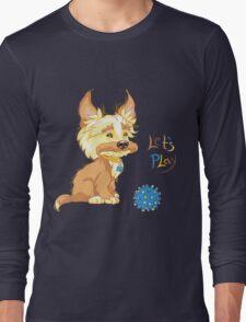 Сute redhead shaggy puppy Long Sleeve T-Shirt