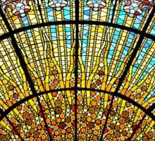 Skylight in the Palau de la Musica Catalana Sticker