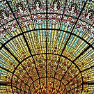 Skylight in the Palau de la Musica Catalana by Hercules Milas
