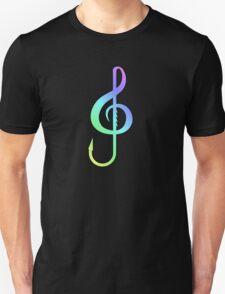 Music Hook Colorful  Unisex T-Shirt