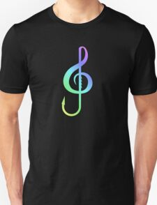 Music Hook Colorful  T-Shirt