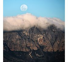 The Mountains and the Moon Photographic Print