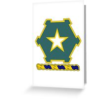 36th Infantry Regiment Greeting Card