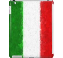 Green White and Red iPad Case/Skin