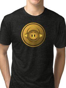Good Music Gold Symbol Tri-blend T-Shirt