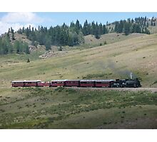 Scenic New Mexico by steam train Photographic Print