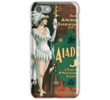 Performing Arts Posters Aladdin Jr a tale of a wonderful lamp 0004 iPhone Case/Skin