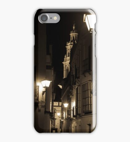 Night in Seville  iPhone Case/Skin