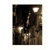 Night in Seville  Art Print