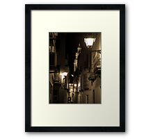 Night in Seville  Framed Print