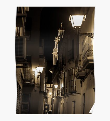 Night in Seville  Poster