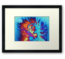 Waterwoman Framed Print