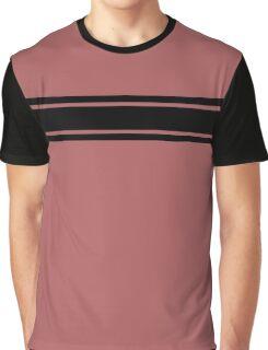 Retro Inspired Stripes Uni Dusty Cedar Fall 2016 Graphic T-Shirt