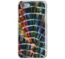 Japanese fans, oil painting iPhone Case/Skin