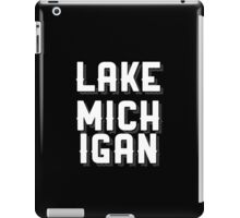 Lake Michigan (White) iPad Case/Skin