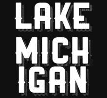 Lake Michigan (White) by fandomtshirtss