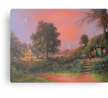 A Party Under The Tree. Canvas Print