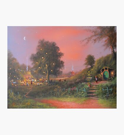 A Party Under The Tree. Photographic Print