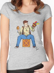 Nathan Drake - The Relics Hunter Women's Fitted Scoop T-Shirt
