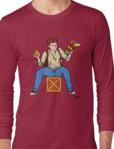 Nathan Drake - The Relics Hunter Long Sleeve T-Shirt