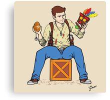 Nathan Drake - The Relics Hunter Canvas Print