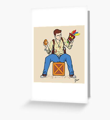 Nathan Drake - The Relics Hunter Greeting Card
