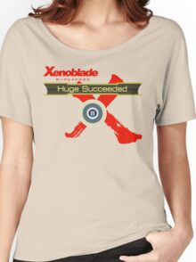 Huge Succeeded - Xenoblade Chronicles X Red Women's Relaxed Fit T-Shirt