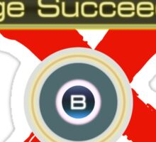 Huge Succeeded - Xenoblade Chronicles X Red Sticker