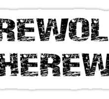 Werewolf, Therewolf Sticker