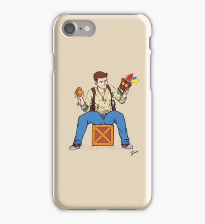 Nathan Drake - The Relics Hunter iPhone Case/Skin