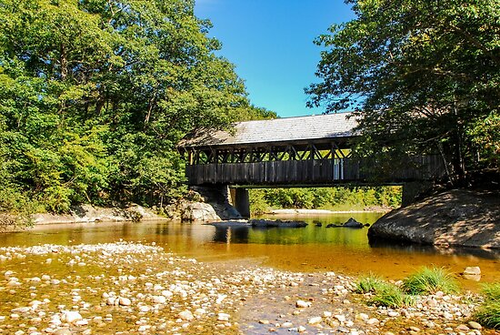 Artists'  Covered Bridge by mcstory