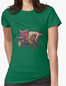 Kosmoceratops Womens Fitted T-Shirt