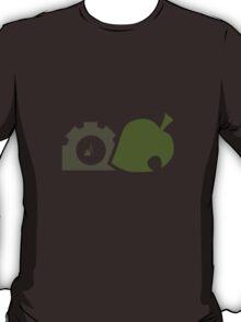 Fall Animal Crossing clock T-Shirt