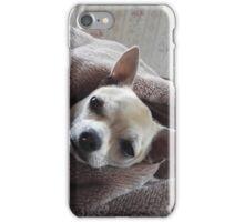 Sleepy pooch iPhone Case/Skin