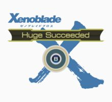 Huge Succeeded - Xenoblade Chronicles X Blue One Piece - Short Sleeve