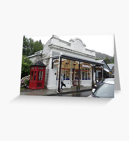 Arrowtown Pharmacy New Zealand Greeting Card