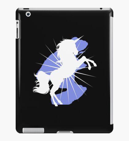 White Unicorn  iPad Case/Skin