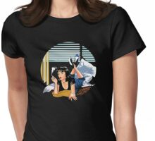 Pulp Fiction - Mia Standalone Variant Womens Fitted T-Shirt