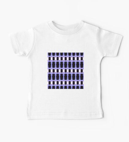 Square Blue Daffodil (VN.158) Baby Tee
