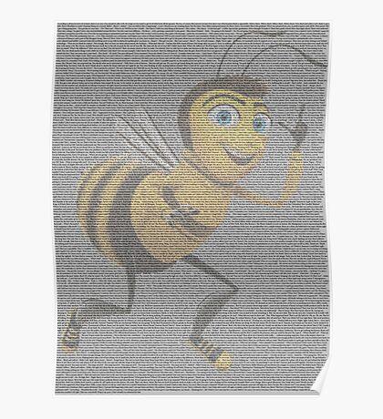 bee movie script Poster