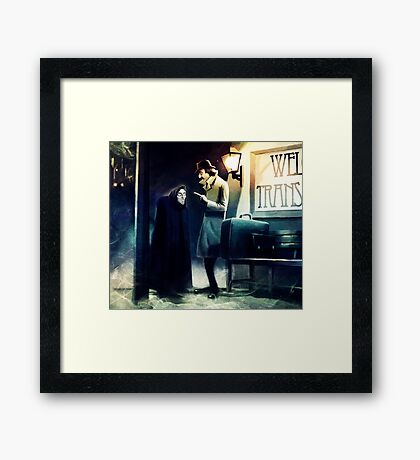 Young Doctor Framed Print