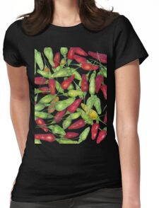 Chilly harvest (coloured pencil) Womens Fitted T-Shirt