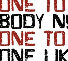 Love Me Do The Beatles 60s Rock Music Lyrics Lennon McCartney Sticker
