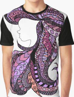 Pink Ariel Graphic T-Shirt