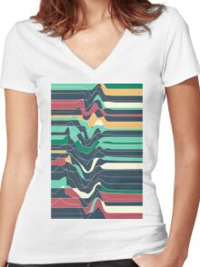 Don´t Move IX Women's Fitted V-Neck T-Shirt