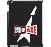 Random Axe Retro Logo iPad Case/Skin