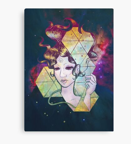 Geode Lady Canvas Print