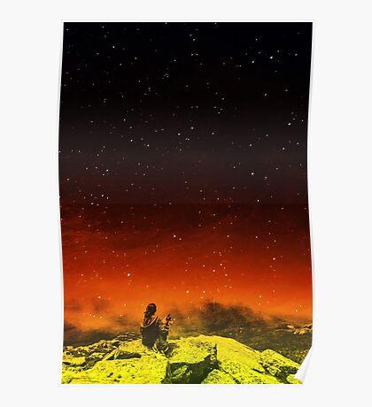 Burning Hill Poster
