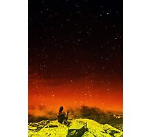 Burning Hill Photographic Print